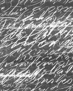 Christel Llop - Asemic writing