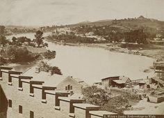 Rzeka Wisła (Kraków), Kraków - 1870 rok, stare zdjęcia