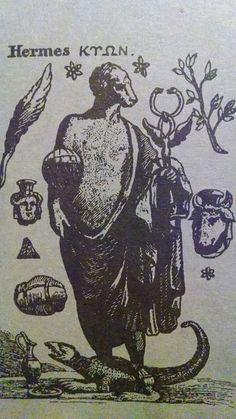 Plate- Hermes Trismegistus