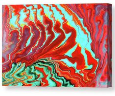Colorful abstract painting tca by Tiktus Color Art Canvas Prints, Framed Prints, Art Prints, Large Canvas, All Wall, Medium Art, Unique Art, Fine Art America, Wall Art
