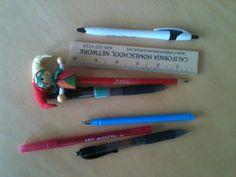 Pens & Ruler