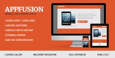 AppFusion - Nifty Little Responsive Landing Page