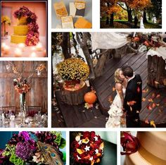 Fabulous Fall Wedding Color