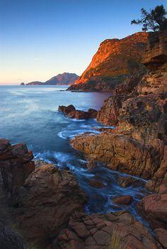 Freycinet National Park, Tasmania, breathtakingly beautiful and remote