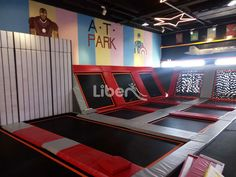Liben Indoor Trampoline Park Project in Jiangyin, China-5