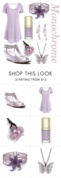 """Lavender monochrome"" by rachelhuang68 ❤ liked on Polyvore featuring New York Transit, Cara, Dolce&Gabbana, NOVICA and Steel City"