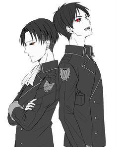 Recueil d'images yaoi sur le couple Eren et Levi! #aléatoire # Aléatoire # amreading # books # wattpad