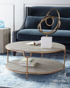 Chaz+Tiered+Coffee+Table+by+Regina-Andrew+Design+at+Neiman+Marcus.