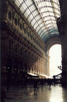 GALLERIA VITTORIO EMANUELE II • Milan, Italy • 1865 - 1877 • built by Giuseppe Mengoni