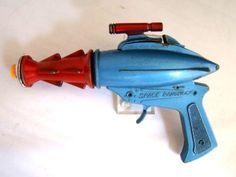 RAY-GUN-CAP-PISTOL-NO-RESERVE