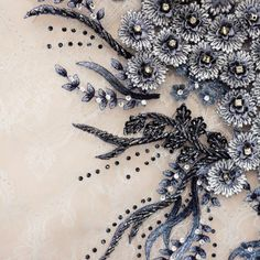 Image result for tambour beading fabric