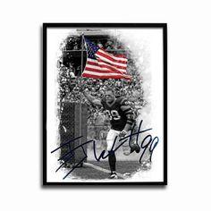 Houston Texans JJ Watt American Hero 24x18 Football Poster