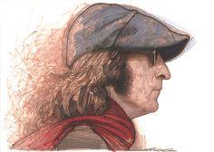 John Lennon by Sebastian Kruger