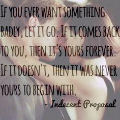 Indecent proposal favorite quotes