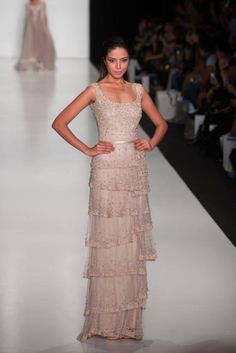 A one of a kind Tony Ward Fashion show with Miss Universe 2013