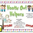 This is a set of 63 jobs in an Owl them that your students might have in your classroom. There is a header that you can put above the cards. You ca...