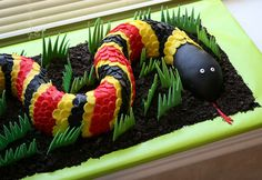 Roundup: The Best in Reptile Cakes, from Dragons to Snakes & More!