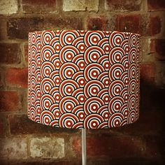 Brown lampshade, retro lampshade, Retro decor, 1960s lamp, 60s home decor, 70s lamp, brown home decor, Brown home accessories, Brown retro by ShadowbrightLamps on Etsy https://www.etsy.com/uk/listing/594669834/brown-lampshade-retro-lampshade-retro