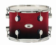 """PDP M5 Tom Drum Cherry Fade 8in by Pacific Drums & Percussion. $178.99. The 8"""" x 7"""" Pacific Drums & Percussion M5 Tom has a 7-ply all-maple shell to give you amazing projection and rich, low tones. The M5 tom is a perfect drum for any style of music. The M5 tom's STM (Suspension Tom Mount) mounting system gives superior support without contact for maximum shell resonance. With the PDP mounting system your drums sing freely without interruption from their mount. PDP ..."""