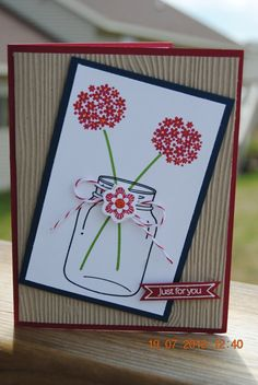 Handcrafted Friendship Thinking of You Card by PaperBlossomsbyAmy