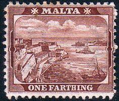 Malta 1899 Queen Victoria Valletta Harbour, SG 31a Fine Mint Scott 19 Other European and British Commonwealth Stamps HERE!