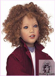 Annette Himstedt 2001 Akki doll from Finland