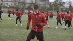 RESPRO® MASKS X CRACOVIA - Watch @Cracovia_EN football club training wearing custom made Respro® Masks https://www.youtube.com/watch?v=EhJpp1l1VVo (Polish video)