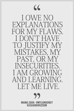 Yup, we all have our weaknesses so don't judge me for mine. Focus on yourself.