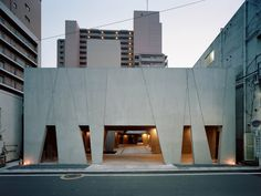 hachioji tree house is a concrete grove by airscape architects
