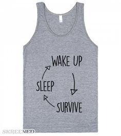 Sleep Survive | My life the flow chart. #Skreened