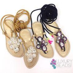 Nada como lo único y personalizado! #soutache #soutachemania #sandals #handmadesandals #soutachesandals #beunique #yolo