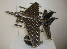 What An Awesome Use For Scrap Metal! http://www.orbitalfabrications.co.uk/
