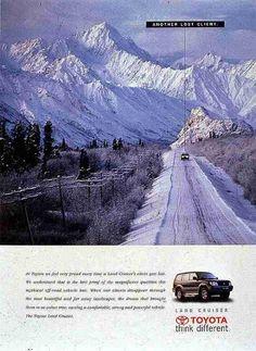 SNOW, Land Cruiser, Ruiz Nicoli, Toyota, Print, Outdoor, Ads