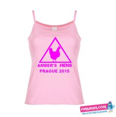 Hen Night Warning Sign T-shirt Vest Tops, Hens Night, T Shirt Vest, Prague, Vests, Athletic Tank Tops, Sign, Party, Shirts