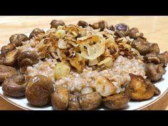 Հաճարով և սնկով փլավ / Պահքի մենյու / Плов из полбы с грибами - YouTube Armenian Recipes, Armenian Food, Cereal, Breakfast, Youtube, Morning Coffee, Youtubers, Breakfast Cereal, Corn Flakes