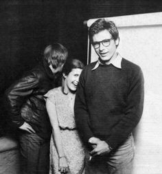 Mark, Carrie, and Harrison 1977