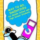 Incentives for Middle School and High School Students is a great behavioral management system. Students are able to earn reward incentives through  their kind deeds, actions, and performance in class. This is great for those students who need a little incentive to get busy on an assignment or who need a little praise for effort. These are wonderful for students in grades 6-12! $