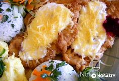 Alpesi tarja Meat Recipes, Cooking Recipes, Hungarian Recipes, Hungarian Food, Weekday Meals, Pork Dishes, Main Meals, Baked Potato, Bacon