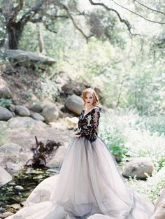 Photography: Luna de Mare - lunademarephotography.com Read More on SMP: http://www.stylemepretty.com/2015/10/30/edgy-black-lace-wedding-inspiration/