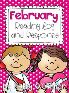 February Reading Log and Response Fun Writing Activities, Winter Activities For Kids, Spring Activities, Literacy Activities, Holiday Activities, Motivational Quotes For Teachers, Motivating Quotes, Inspirational Posters, Independent Reading