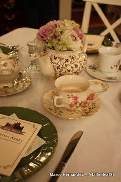 Bunco - Downton Abbey Tea Party - DIY - Party Ideas