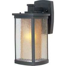 View the Maxim 3153CDWSBZ 1 Light Outdoor Wall Sconce from the Bungalow Collection at LightingDirect.com.