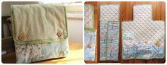 DIY Tutorial Come cucire un telo-kit per il cambio del pannolino