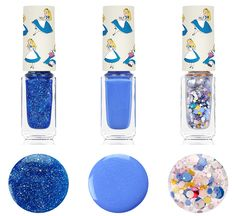 maquiagem_alice_no_país_das_maravilhas_alice_in_wonderland_makeup_beyond_korean_cosmetics_maquiagem_coreana_nail polish