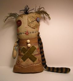 Monster Ragdoll Cybille | Art Doll by Junker Jane