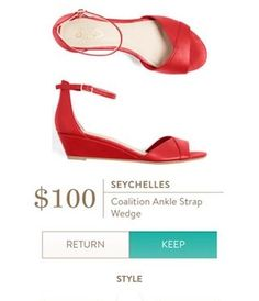 1a3ed5a0eb7c SEYCHELLES Coalition Ankle Strap Wedge from Stitch Fix. https   www. stitchfix