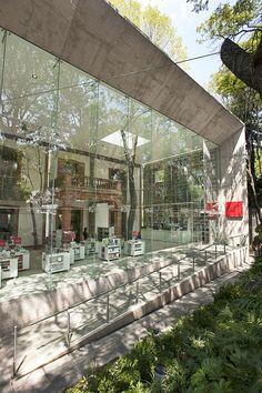 Centro Cultural Elena Garro, em Coyoacán, no México..