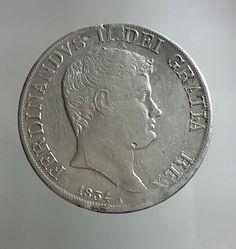 Attualmente nelle aste di #Catawiki: Regno delle Due Sicilie - Piastra da 120 Grana 1834 Ferdinando II - argento