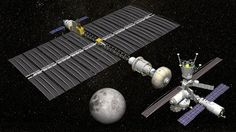 NASA wants to build a permanent outpost beyond the Moon.    If we want to expand our reach into the solar system we need something like this, or the Enterprise.  However the cost of this will kill it instantly, which is a damn shame..