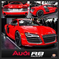 #AudiR8 Facelift